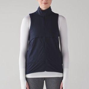 Lululemon | Kicking Asphalt Lightweight Navy Vest